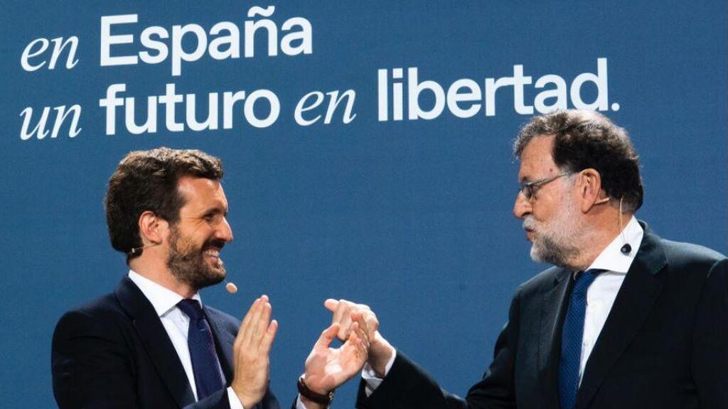Rajoy receta a Casado reformar las pensiones