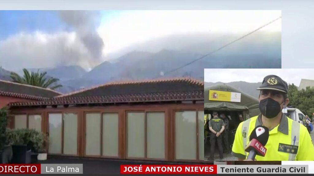 'Cuatro al día' ha hablado con un teniente de la Guardia Civil, afectado por la erupción