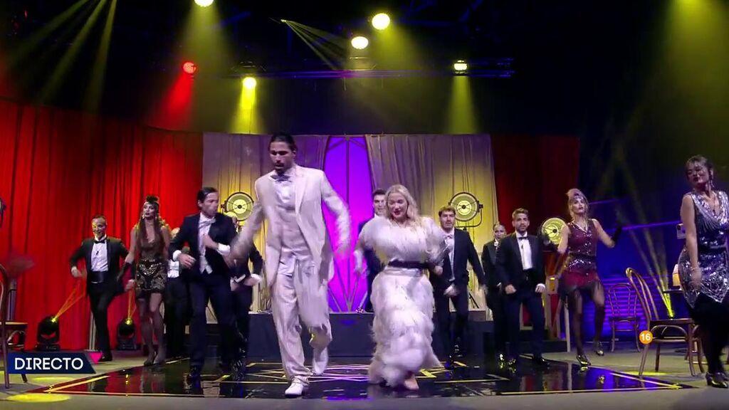 La prueba de baile de los concursantes de 'Secret Story'