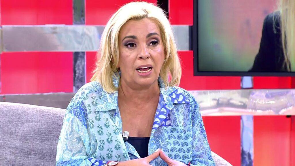 Carmen Borrego responde a Terelu Campos
