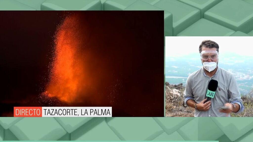 """Las tres fases a las que puede pasar el volcán: """"No está apagado"""""""