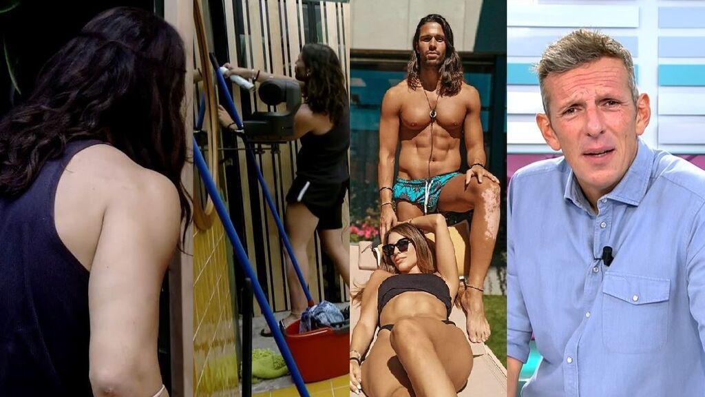 """Joaquín Prat, al ver cómo Luca fisgonea a Cristina en la ducha: """"Eso no es elegante"""""""