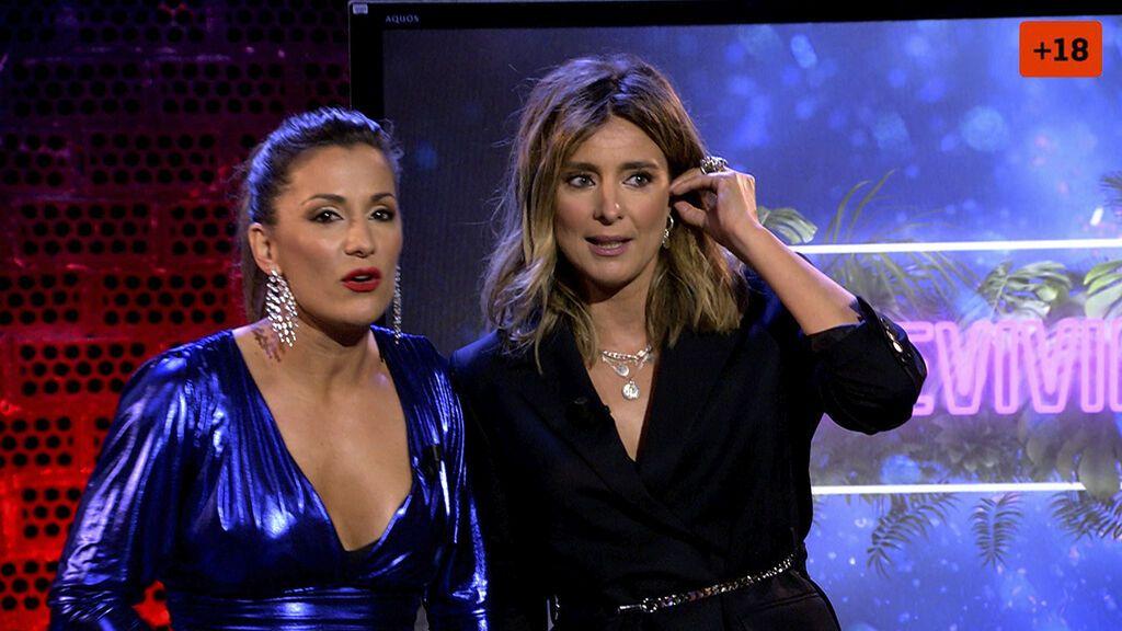 Sandra Barneda sustituye a Nagore por unos minutos en 'Sobreviviré After Show'