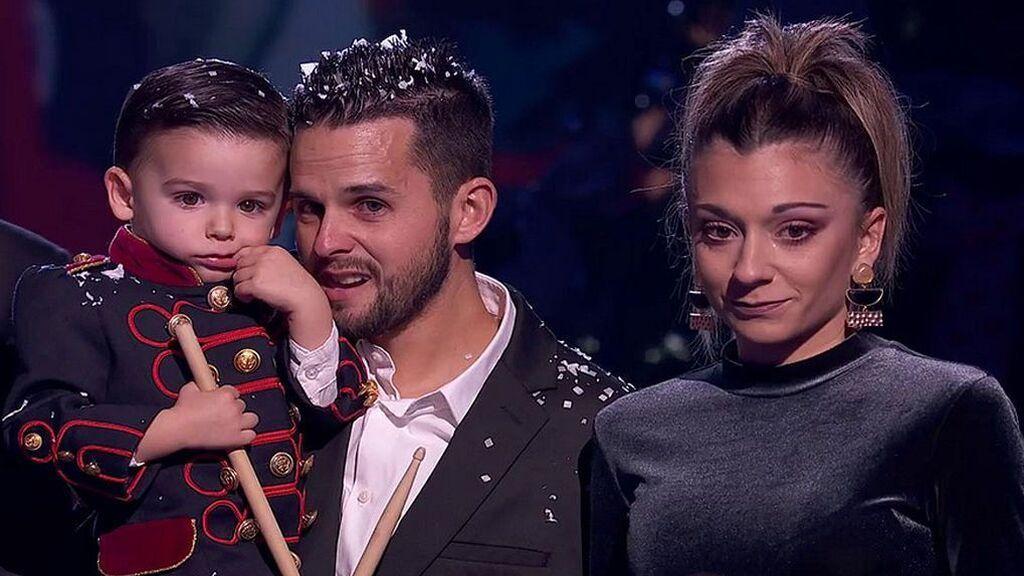 Los papás de Hugo 'Got Talent' se han casado después de anular su enlace por la pandemia