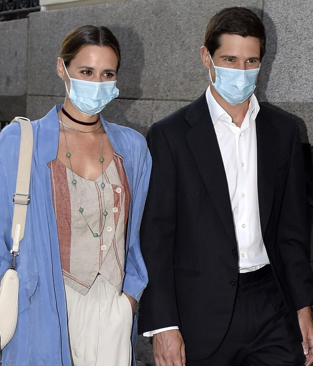 La primera aparición de Claudia Osborne y José Entrecanales tras anunciar su boda
