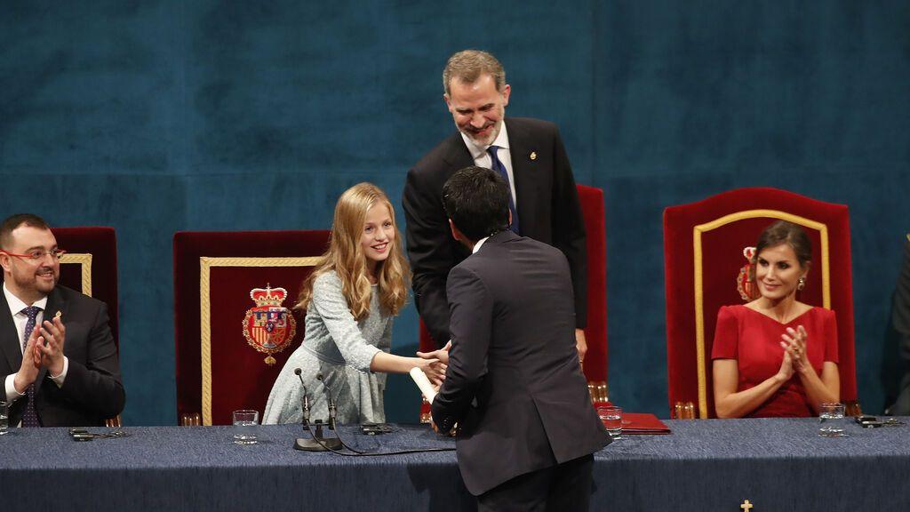 Leonor volverá a España el 22 de octubre para entregar los Premios Princesa de Asturias