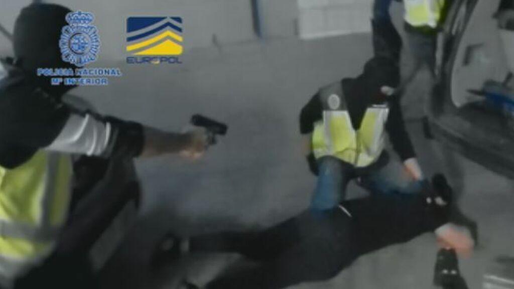Detenciones de película en la desarticulación del 'clan de los Balcanes', la mayor red de tráfico de cocaína de Europa