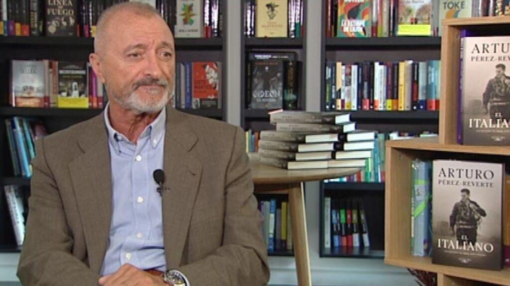 Arturo Pérez-Reverte presenta su nuevo libro: El italiano