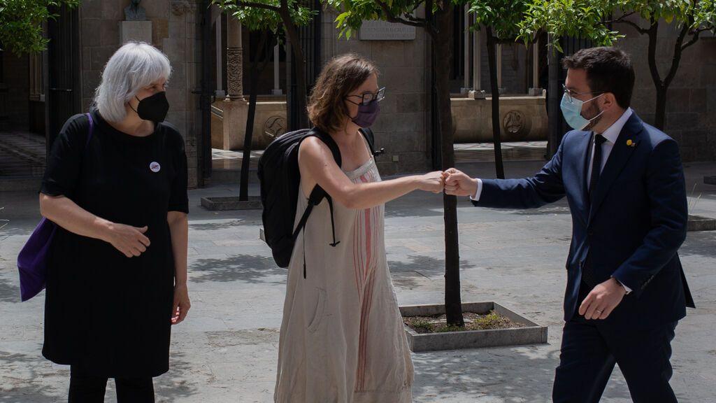 La CUP pone contra las cuerdas a Aragonès y propone votar un referéndum antes del 2025