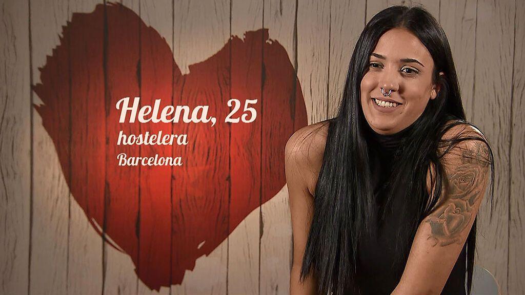 """Helena: """"Me gusta ir llamando la atención e ir rompiendo cuellos"""""""