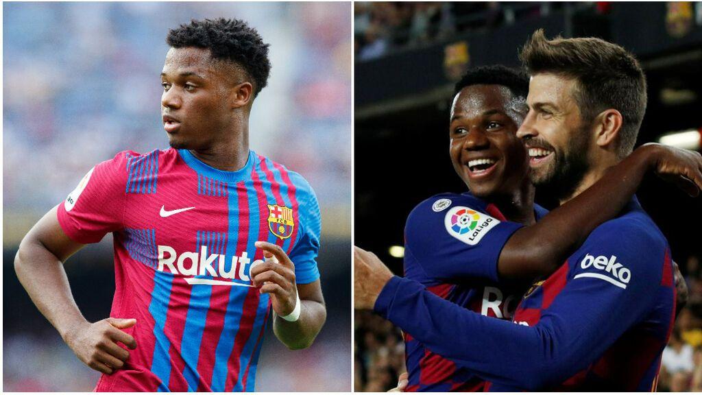 """Ansu Fati pidió a los capitanes del Barcelona heredar el '10' de Messi: """"Sólo si me dan permiso"""""""