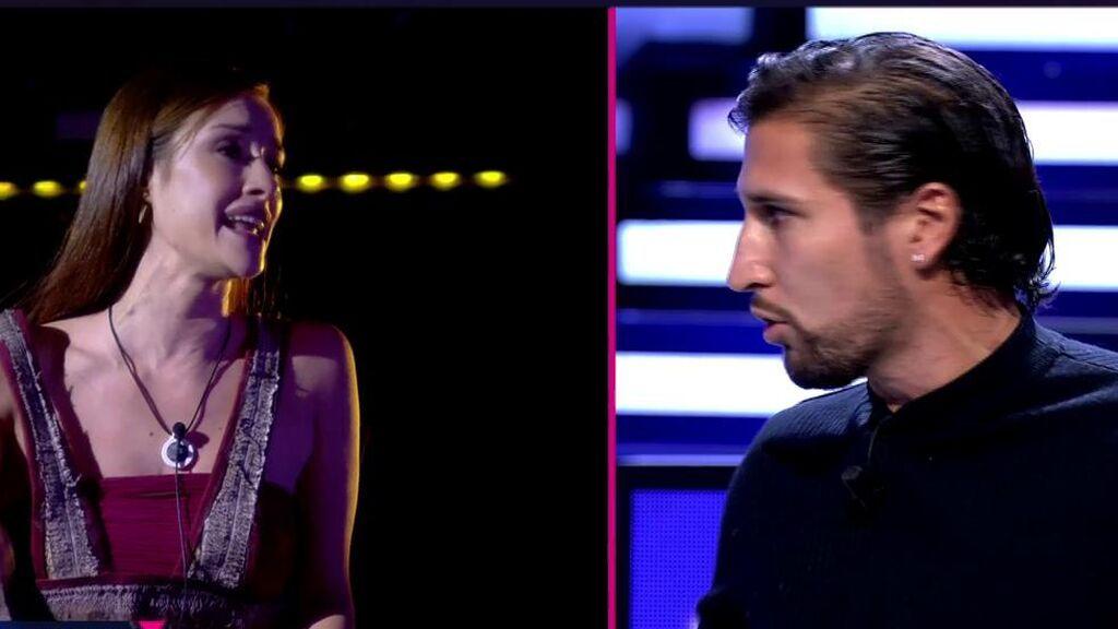 Duelo de reproches en el duro enfrentamiento entre Adara y Gianmarco
