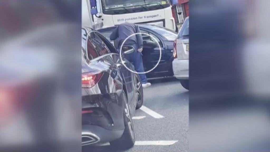 Las peleas en las gasolineras británicas se repiten por la escasez de combustible