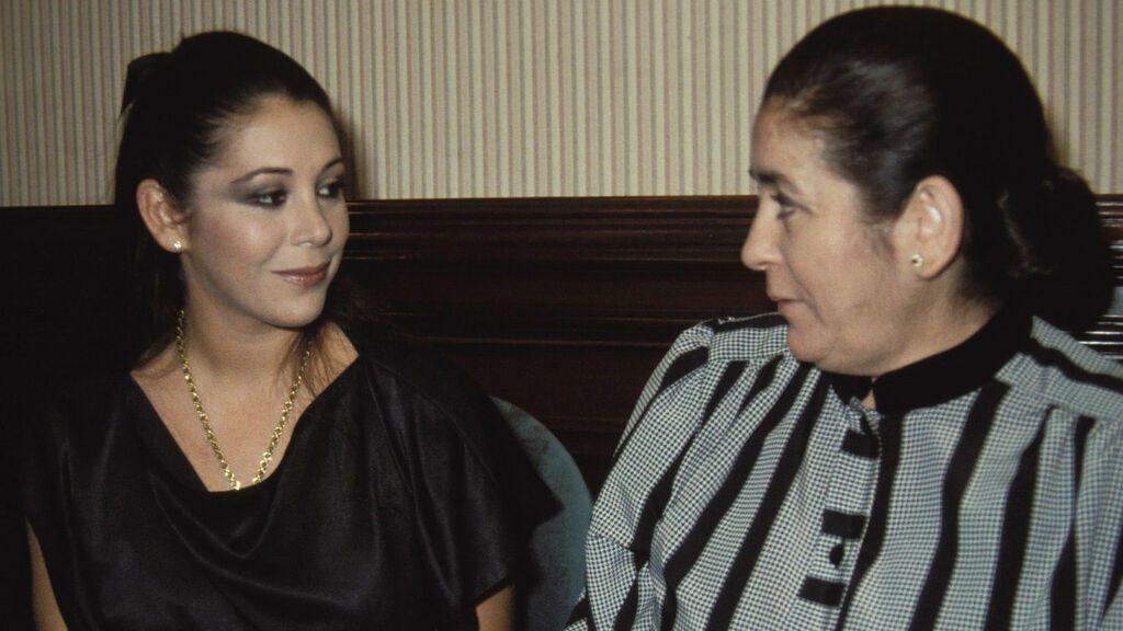 Isabel Pantoja y su madre, Doña Ana