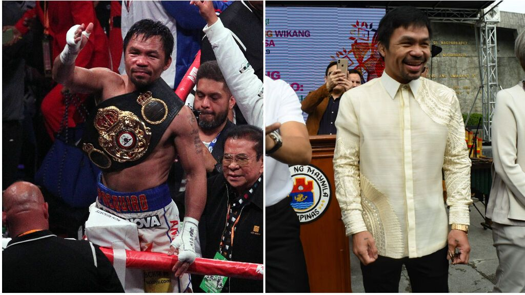 Pacquiao se retira del boxeo para intentar ser presidente de Filipinas