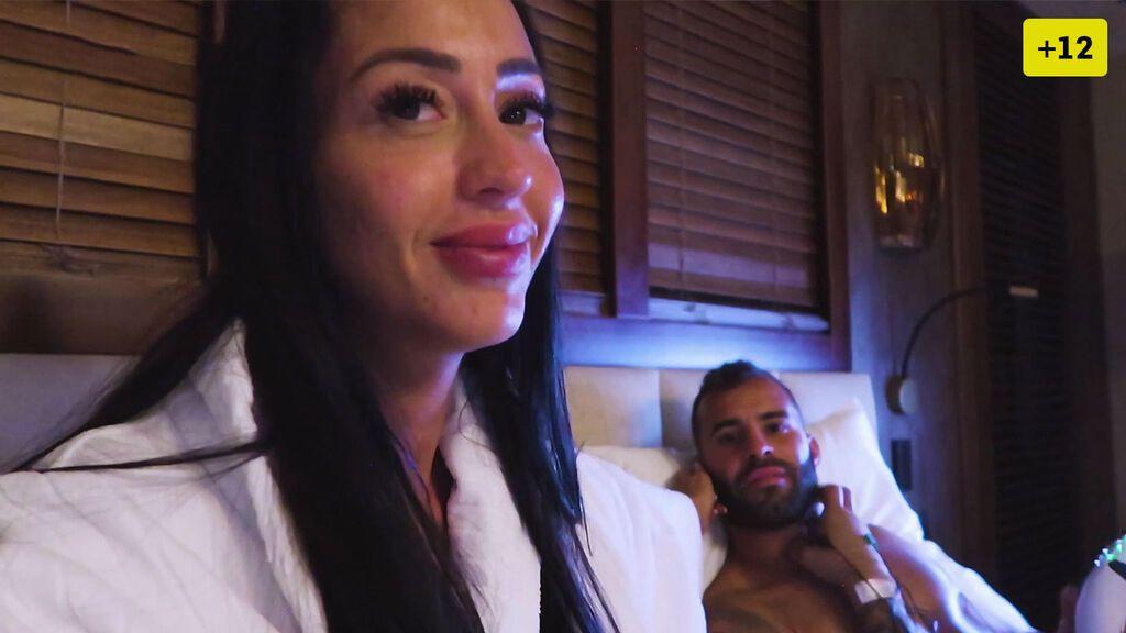 Aurah Ruiz y Jesé Rodríguez muestran cómo es su vida en el hotel de lujo en el que viven (1/2)