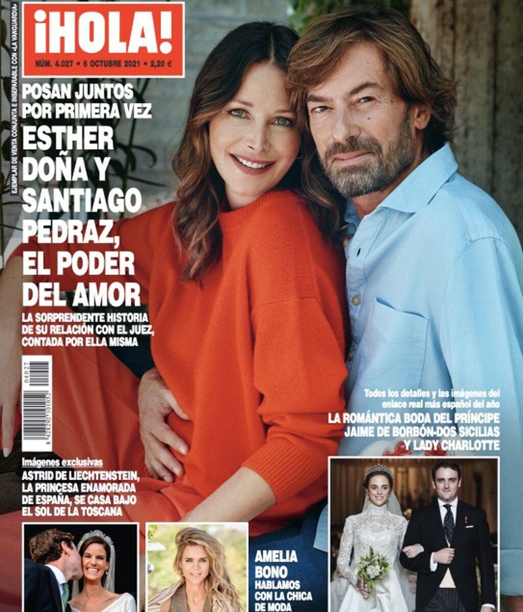 Esther Doña y Santiago Pedraz