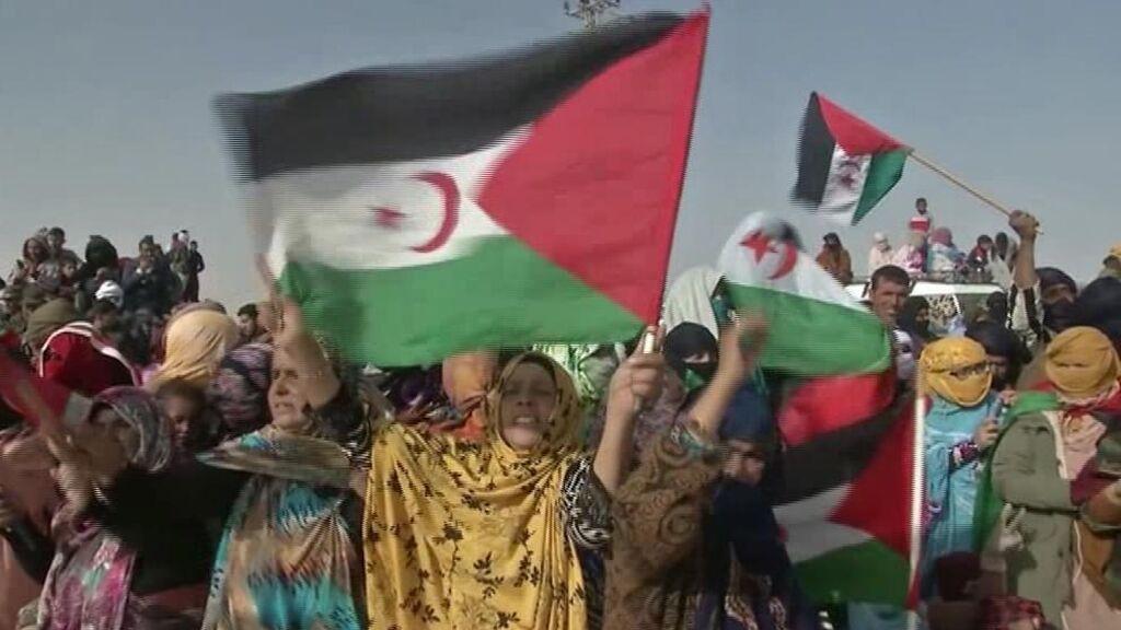 """El Frente Polisario celebra """"una victoria triunfal del pueblo saharaui"""" frente a Marruecos"""