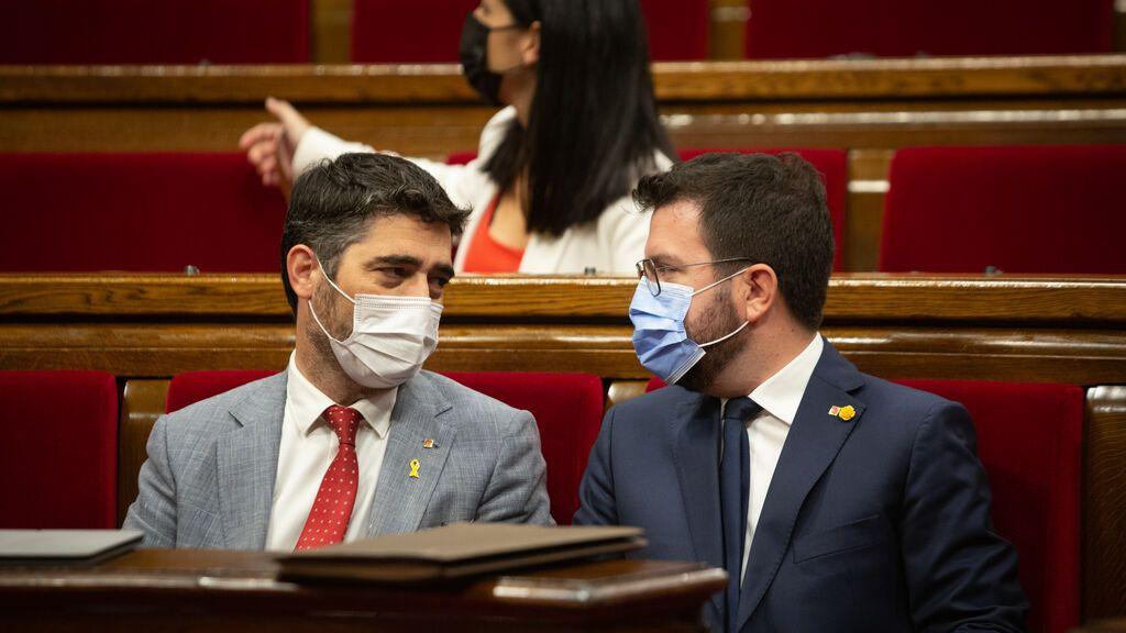 ERC y Junts, obligados a decidir si apoyan el referendum propuesto por la CUP antes de 2025