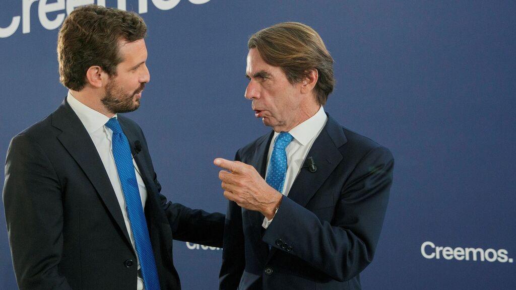 """Aznar no piensa pedir perdón """"lo diga quien lo diga"""" aunque sea el Papa"""