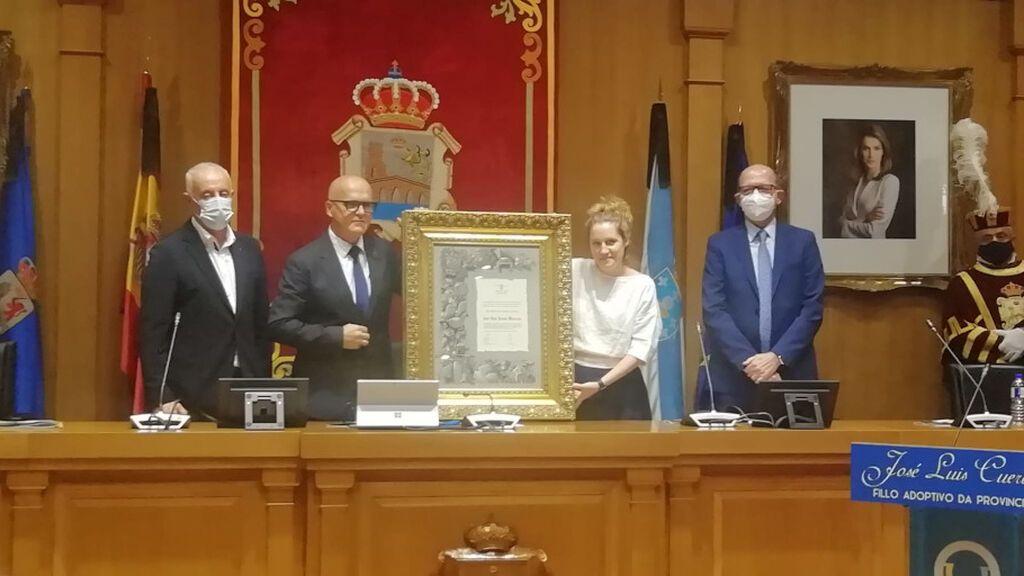 José Luis Cuerda, un enamorado de Ourense que ya es hijo adoptivo de la provincia