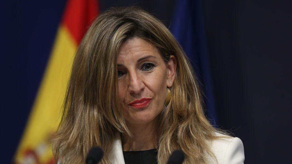 """Yolanda Díaz admite que está """"rodeada de egos"""" en su proyecto político y si """"hay ruido"""" se irá"""