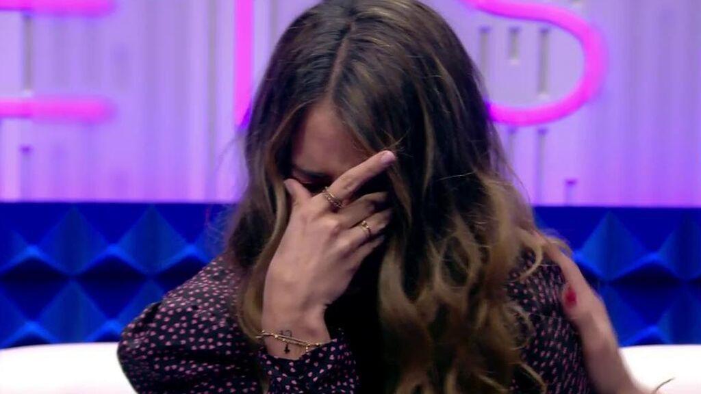 Las lágrimas de Cristina Porta tras la expulsión de Miguel Frigenti