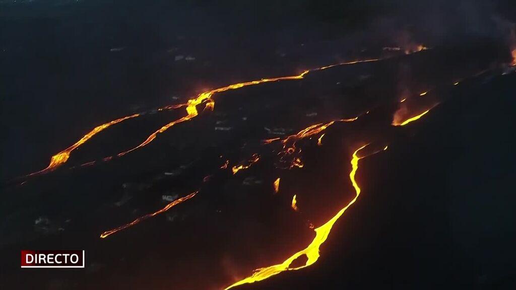 ¿Qué puede pasar con las nuevas coladas del volcán de La Palma?