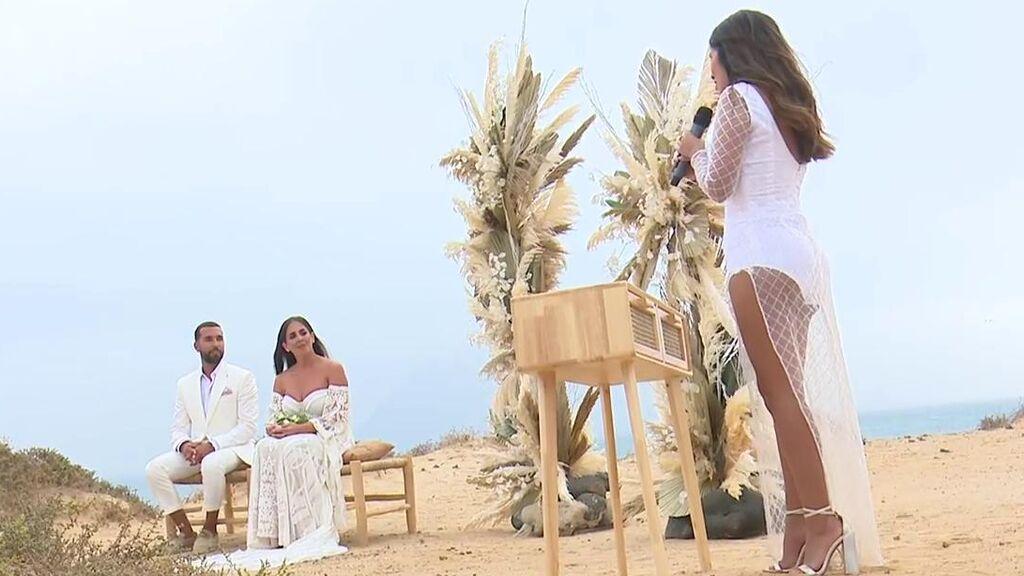 El discurso de Isa Pantoja en la boda de Anabel con 'dardo' a Kiko Rivera