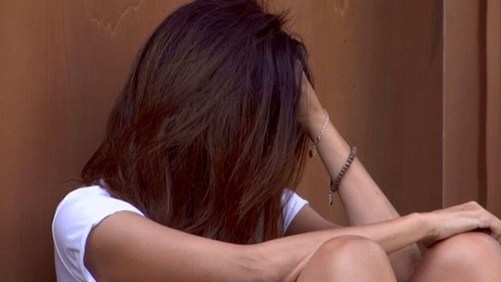 Isabel llora