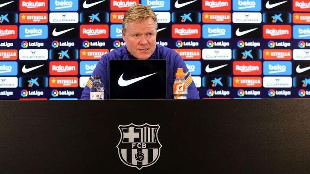 Koeman se despide del Barça