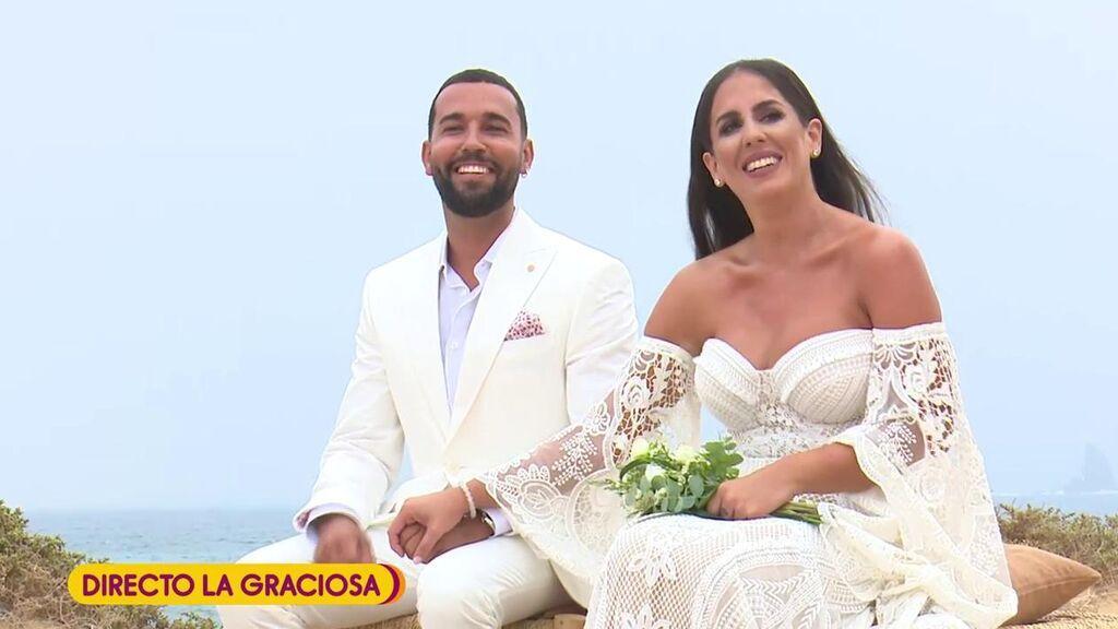 La entrada de Anabel Pantoja en su boda
