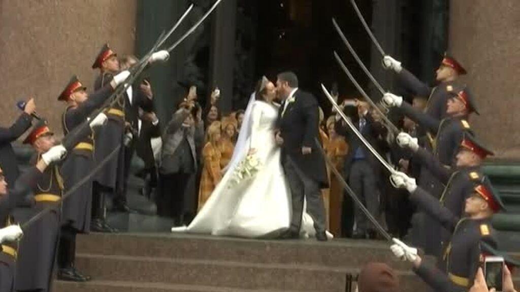 Jorge Romanov,  la boda del heredero de los zares en Rusia