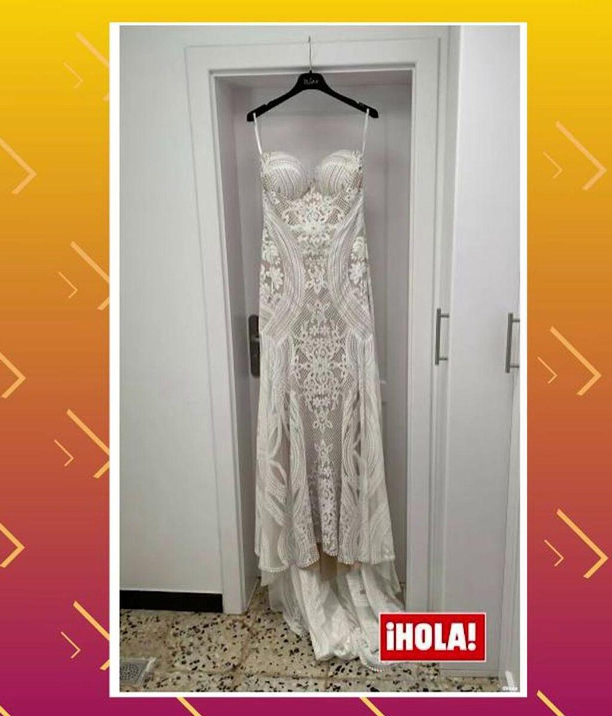 El vestido de novia de Anabel Pantoja