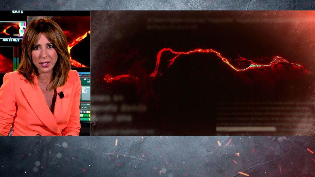 Las tremendas imágenes del volcán de La Palma desde el espacio En el punto de mira Temporada 7 Especial 2