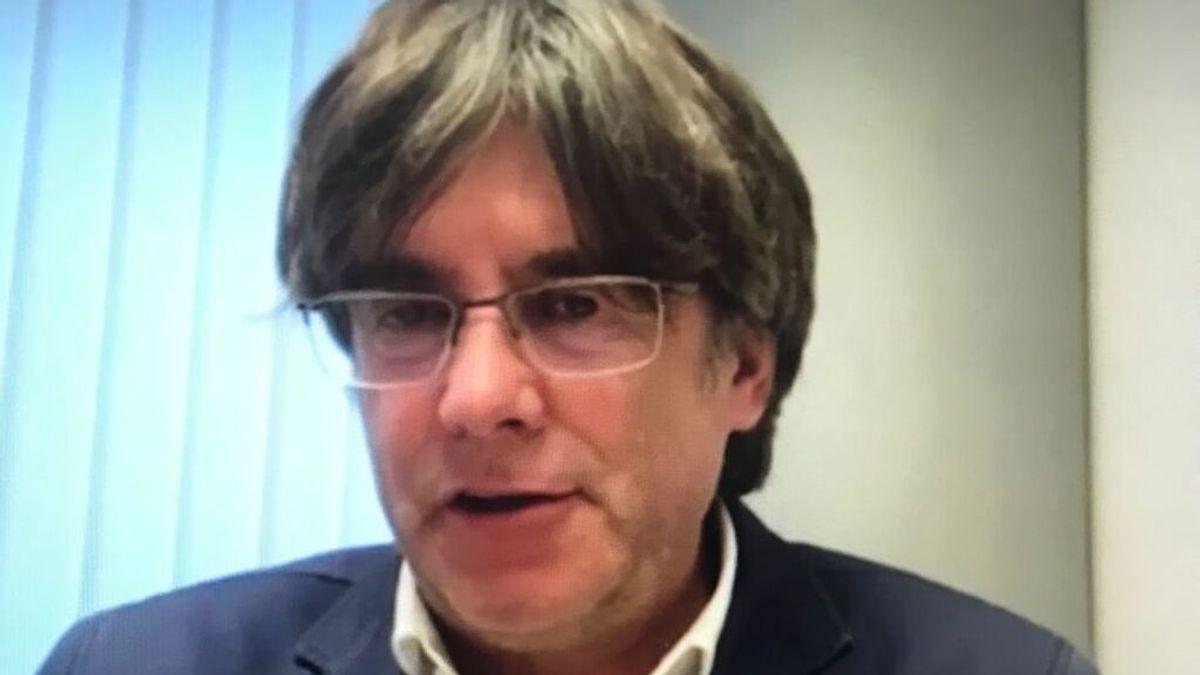 En directo: comparecencia de Carles Puigdemont desde Cerdeña