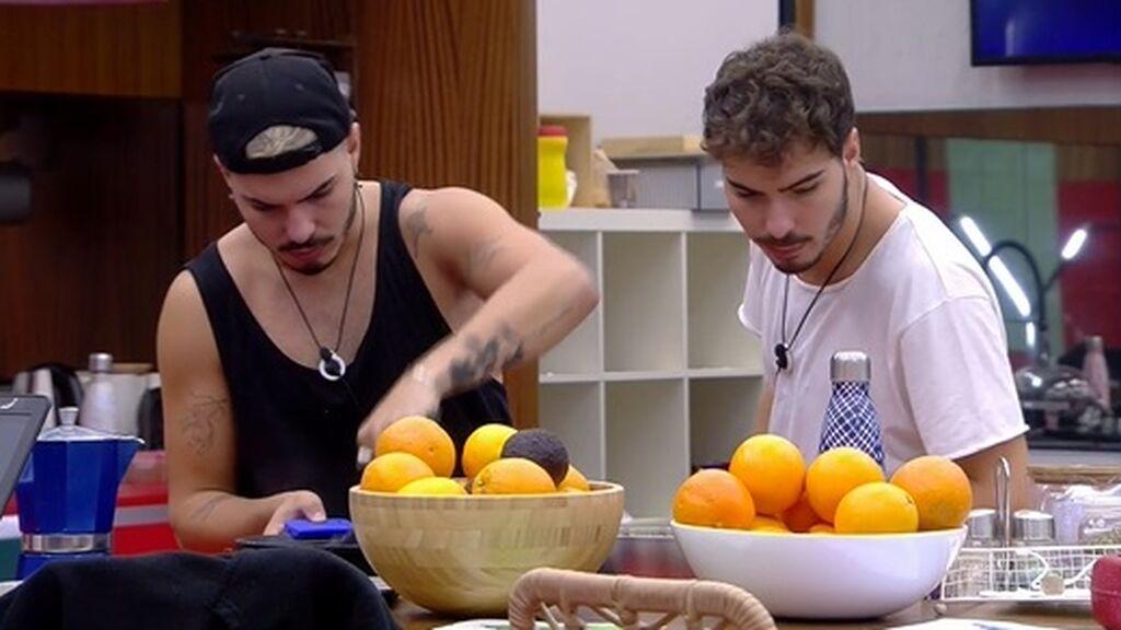 Dani hace la comida