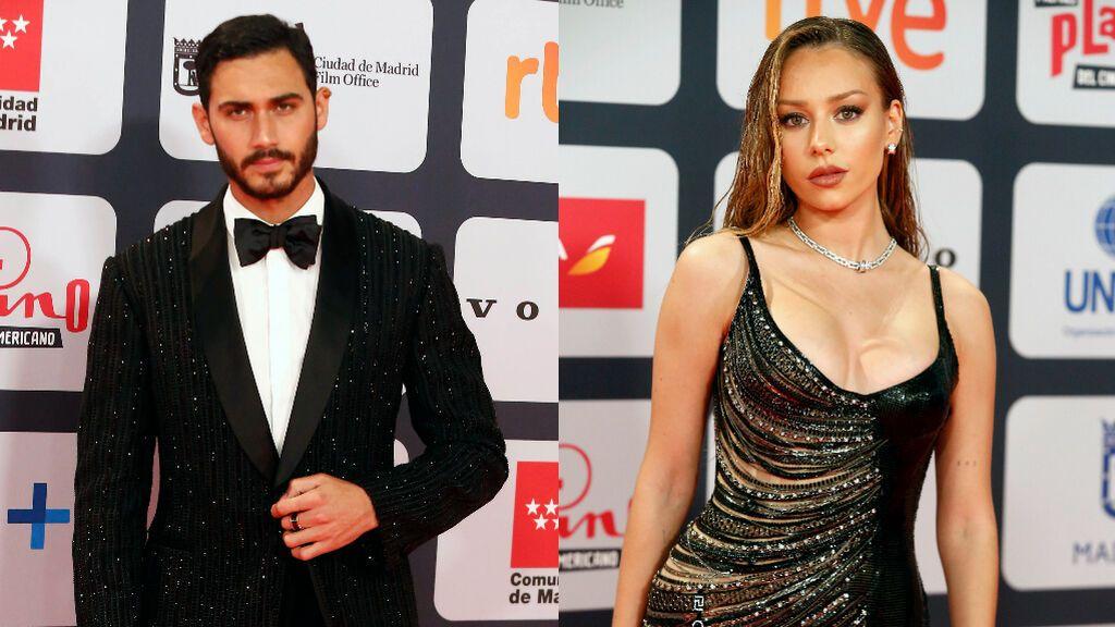 Ester Expósito y Alejandro Speitzer se reencuentran en los Premios Platino tras confirmar su ruptura