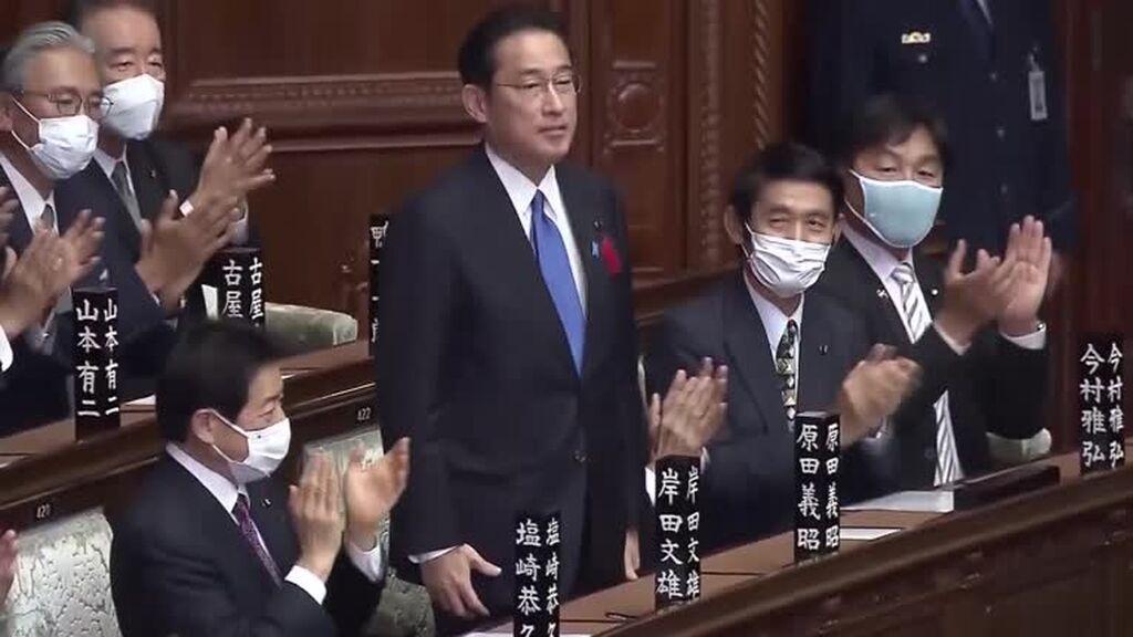 El Parlamento de Japón nombra a Fumio Kishida como primer ministro