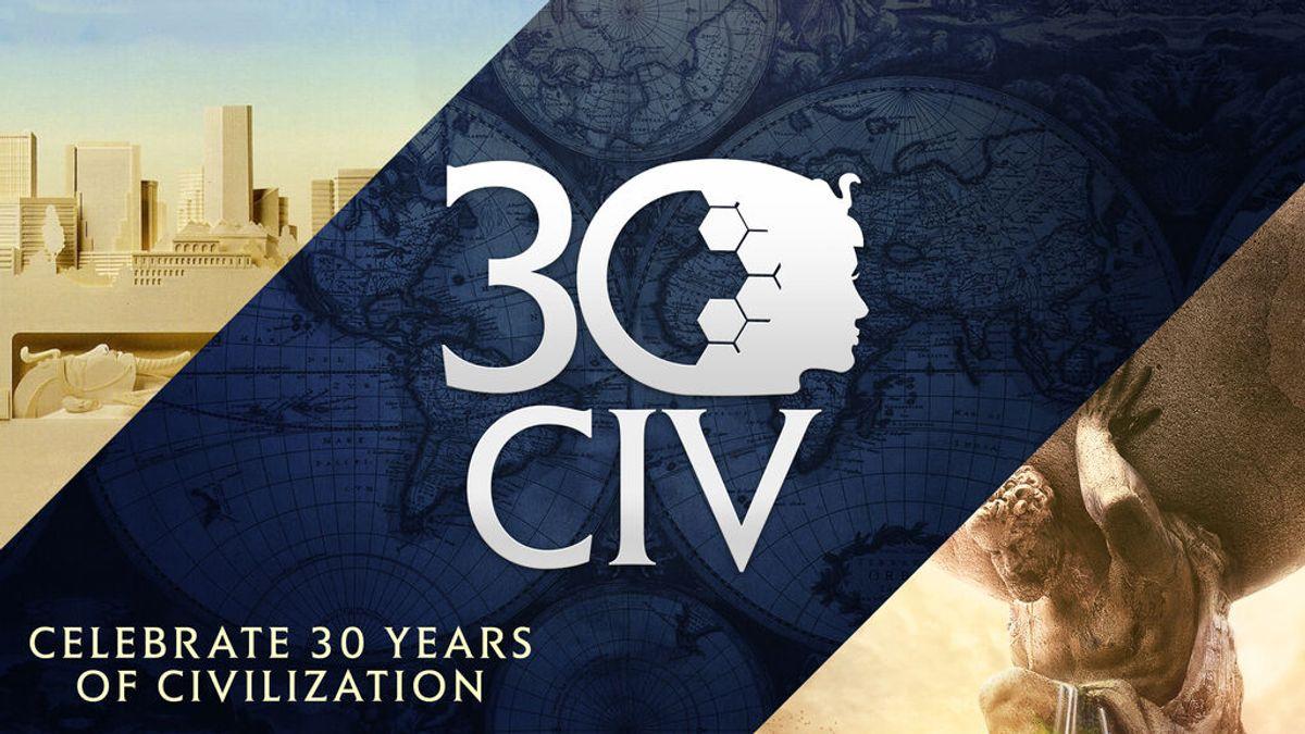 Civilization cumple 30 años y lo va a celebrar por todo lo alto