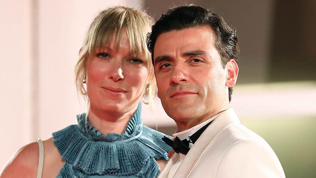 Oscar Isaac y su mujer, Elvira Lind