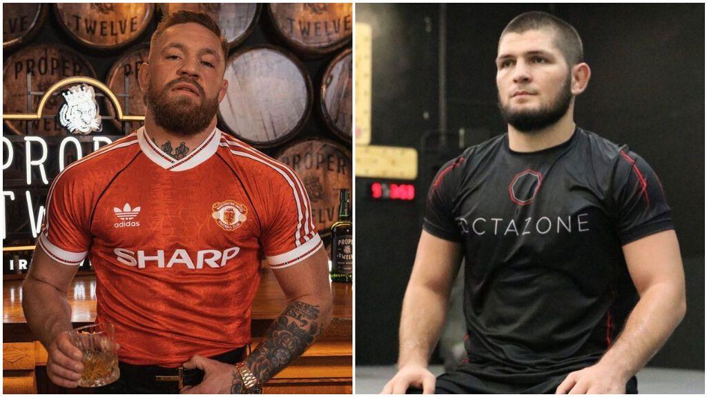 McGregor y Khabib pelearon en 2018.