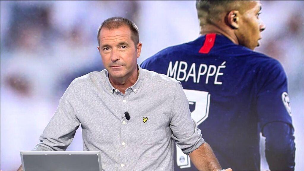 Manu Carreño, sobre el futuro de Kylian Mbappé.