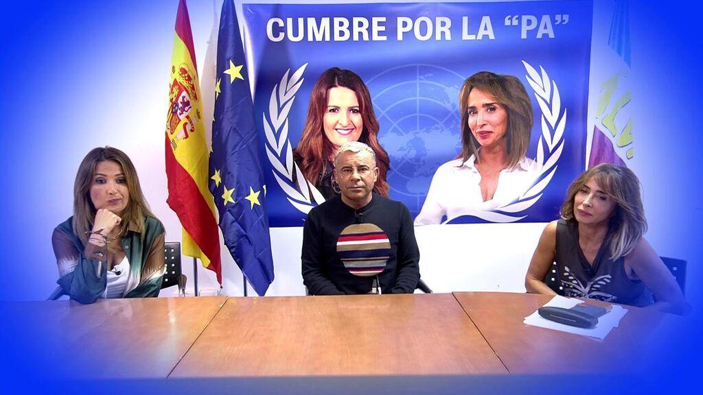La cumbre por la paz de María Patiño y Laura Fa