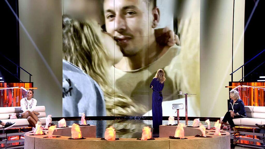 """Melodie reacciona """"escandalizada"""" a las imágenes del beso de Cristian y Lucía: """"Me he quedado muerta"""""""