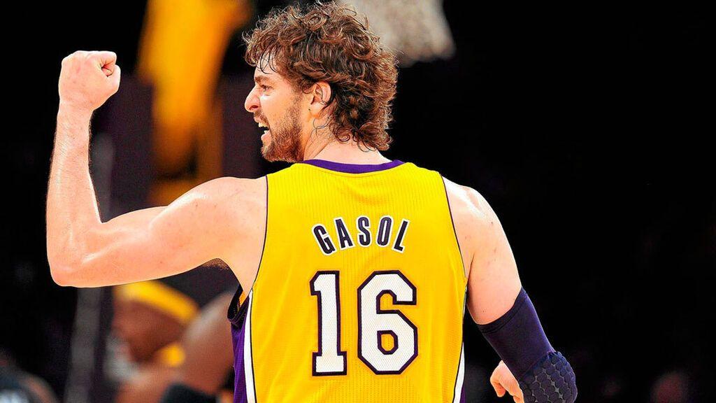 Los Lakers retirarán el 16 de Pau Gasol y colgarán su camiseta en lo más alto del Staples