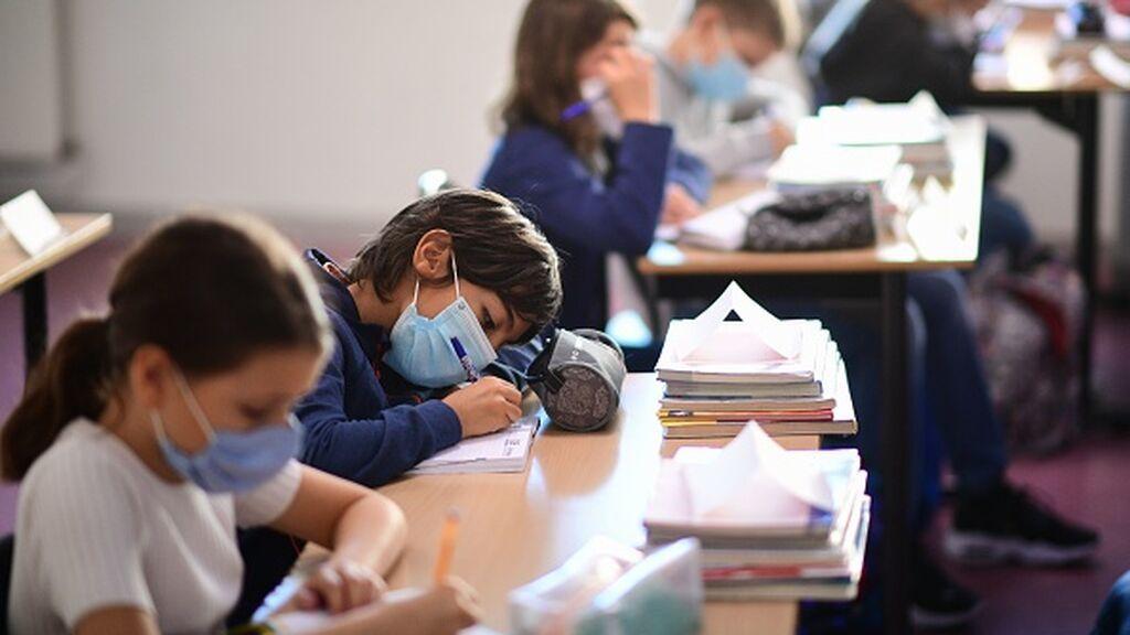 El debate de las mascarillas en clase