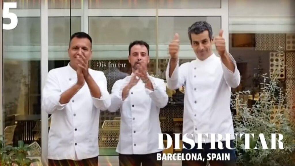 El restaurante Disfrutar de Barcelona, el sexto mejor del mundo en 2021