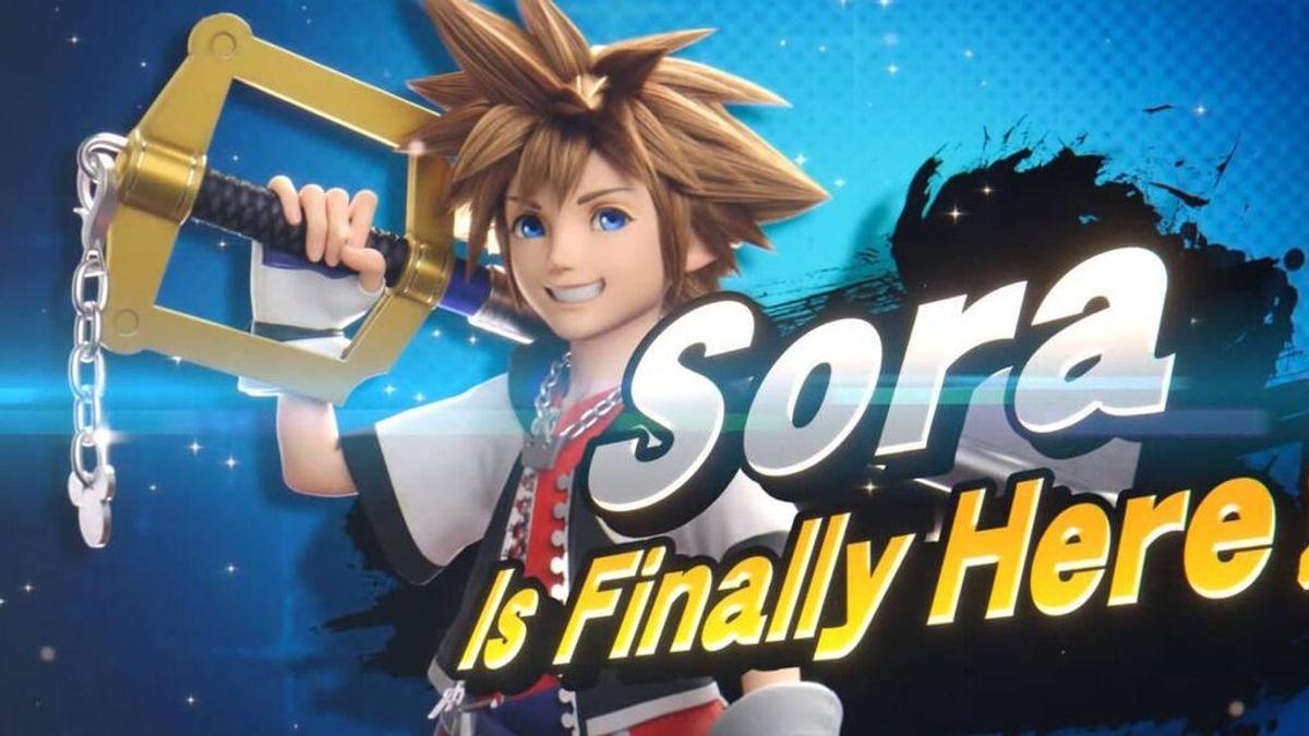 Sora y su llave espada llegan a Super Smash Bros. Ultimate