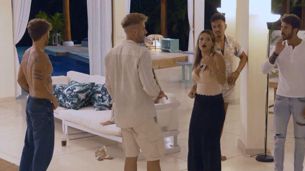 Las reacciones al sexo de Andrea y Manuel